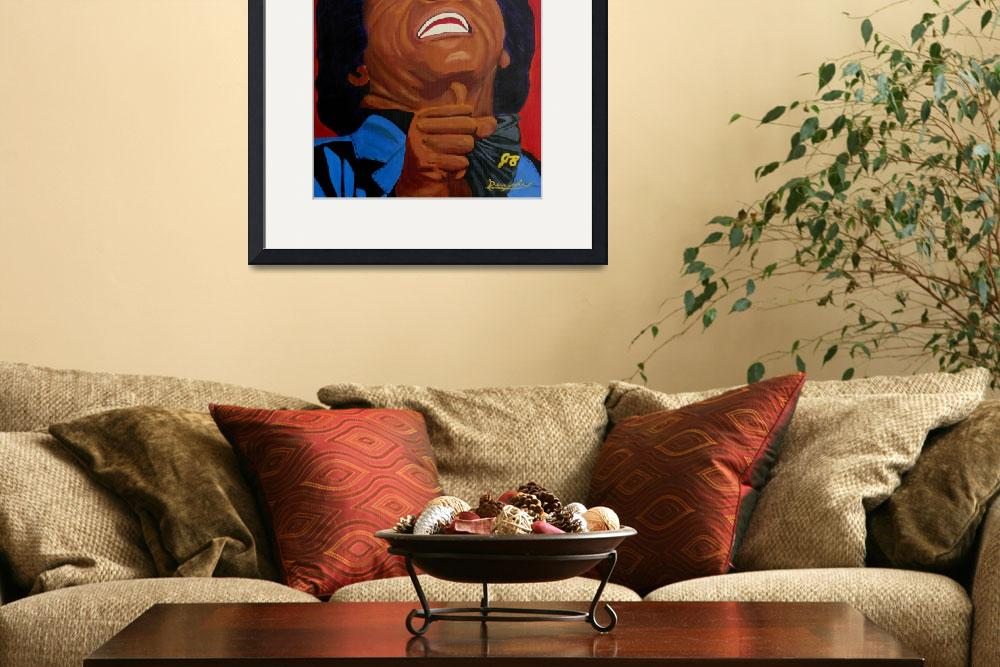 """""""The Godfather of Soul&quot  (2010) by anthonydunphy"""