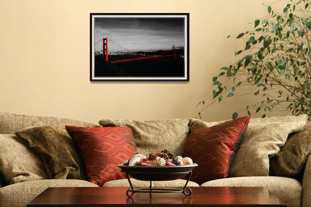 """Golden Gate Bridge&quot  (2010) by calphy"