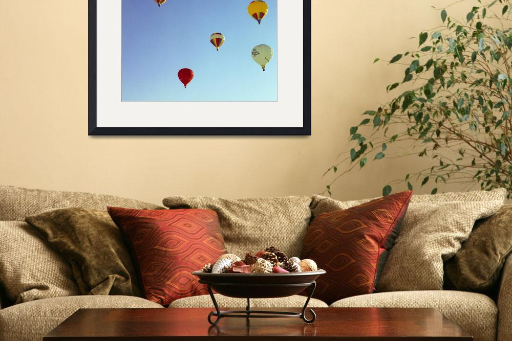 """Alaska Hot Air Baloons #2&quot  by budo"