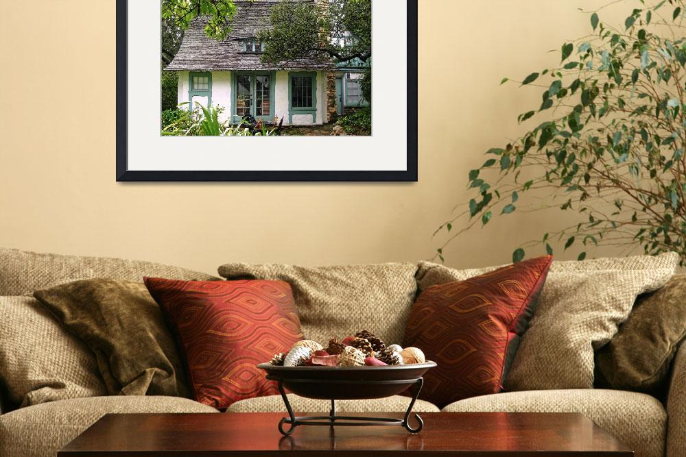 """""""The Fairytale Cottages of Carmel-by-the Sea&quot  by LindaYvonne"""