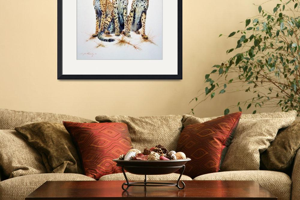 """""""Cheetahs - The Three Graces&quot  by ArtLoversOnline"""