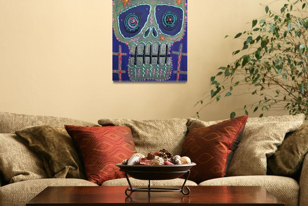 """Candy Sugar Skull""  (2013) by ArtPrints"