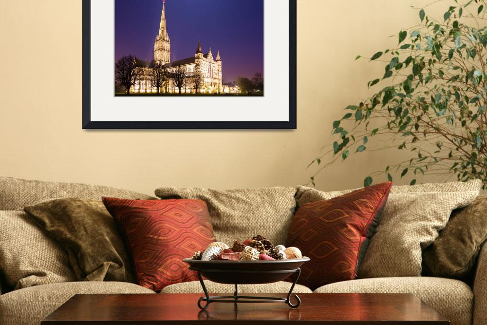 """""""Salisbury Cathedral&quot  (2014) by IanMiddletonphotography"""