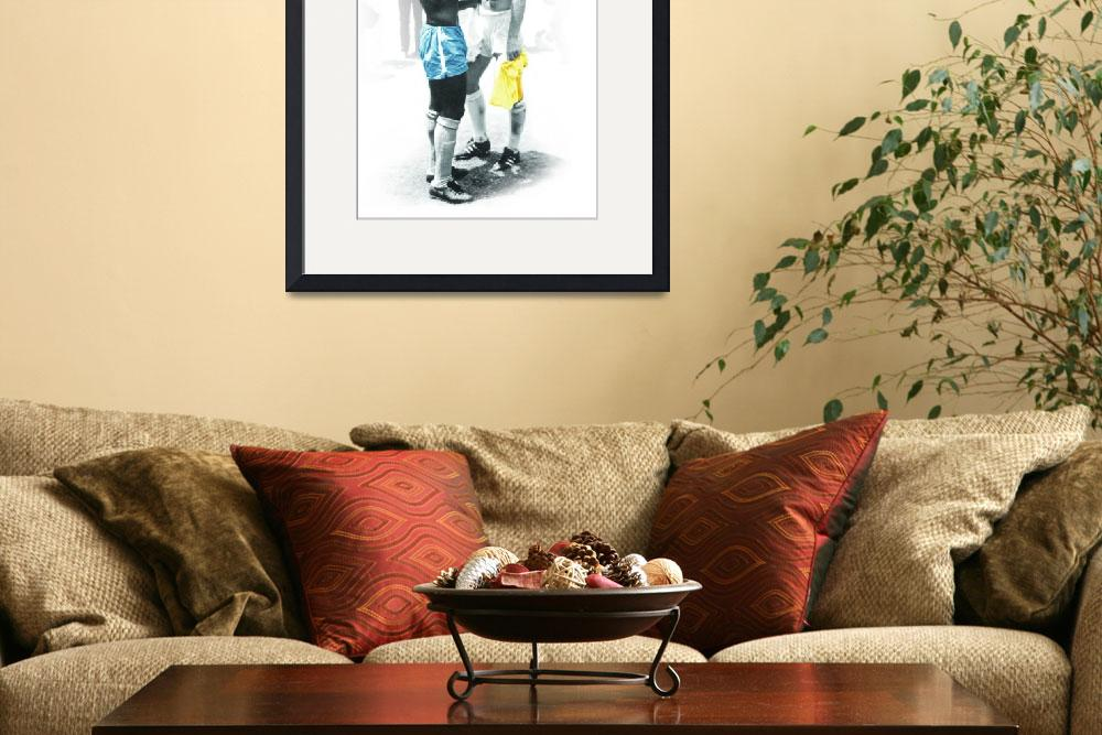 """""""Pele & Moore 70&quot  (2010) by Chappy"""