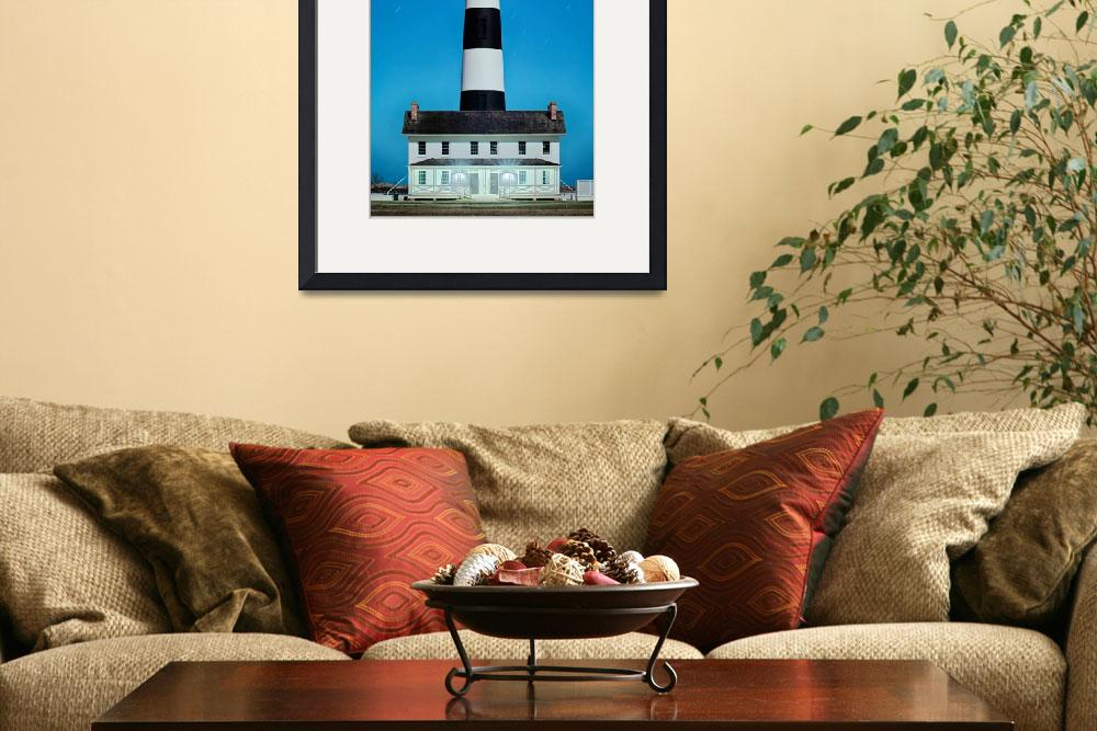 """Bodie Island Lighthouse OBX Cape Hatteras North Ca&quot  by digidreamgrafix"