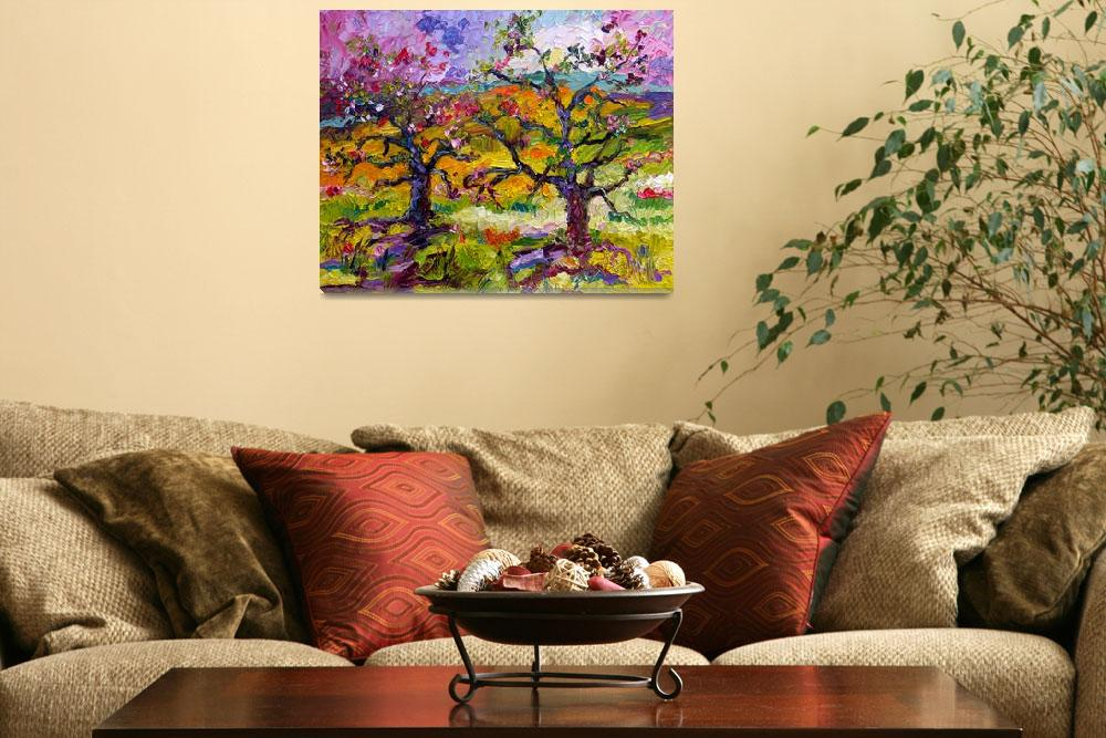"""Spring in Provence Oil Painting Ginette""  (2011) by GinetteCallaway"