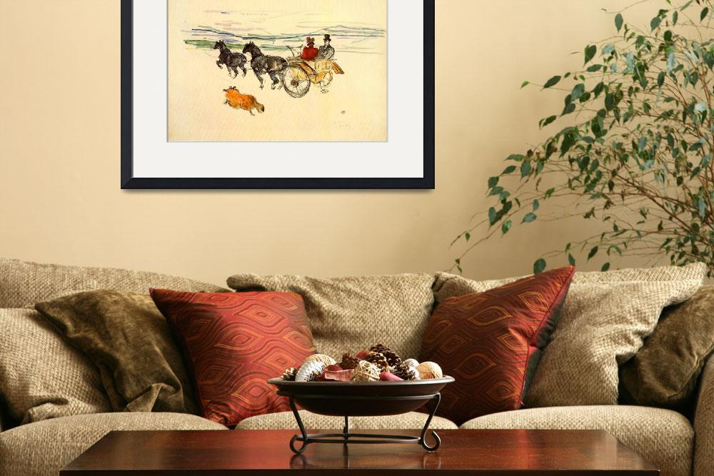 """""""Horse Carriage&quot  by ArtLoversOnline"""