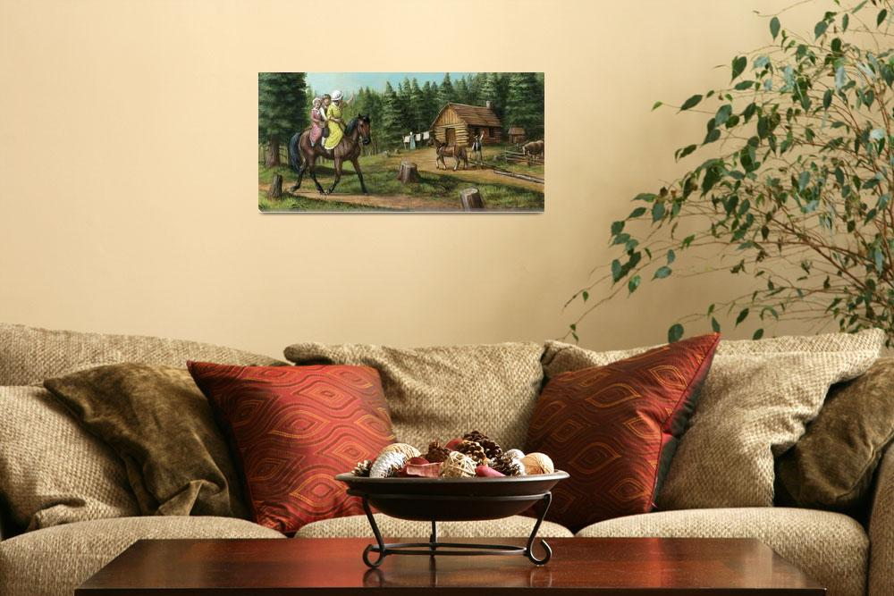 """""""The Canadian Horse, National Horse of Canada&quot  (2011) by jacksby"""