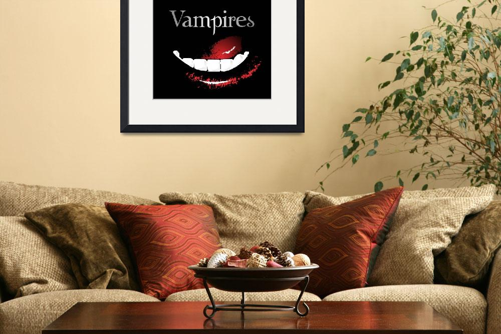 """vampires&quot  (2008) by EARLFERGUSON"