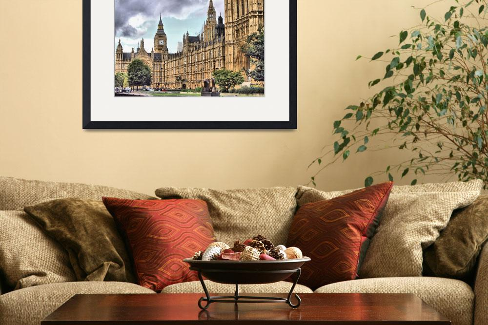 """""""House of Parliment&quot  (2013) by lazysspear"""