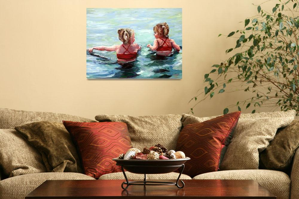 """""""Water Lilies&quot  (2010) by BCArt"""