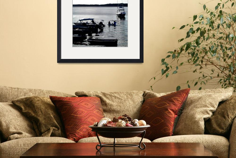 """""""Boating""""  by paulyworksfineart"""