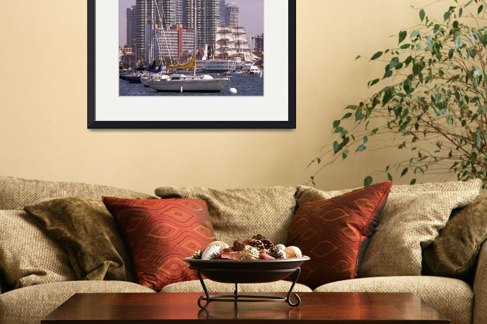 """SAN DIEGO HARBOR&quot  by NaturePlusStudios"