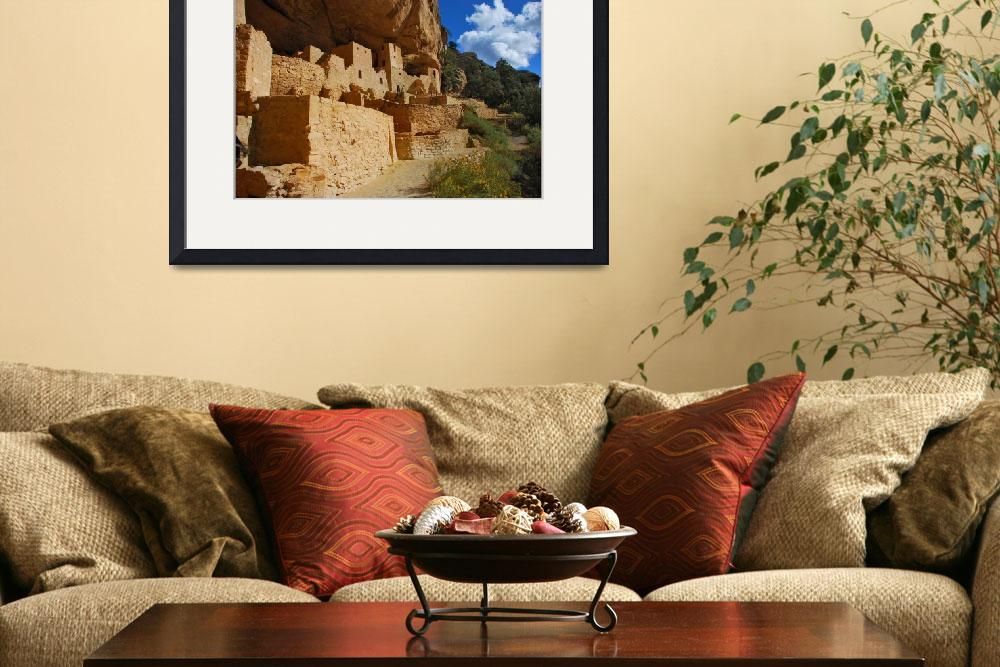 """Anasazi Cliff Palace, Cliff Dwellings, Mesa Verde&quot  by toddbush"