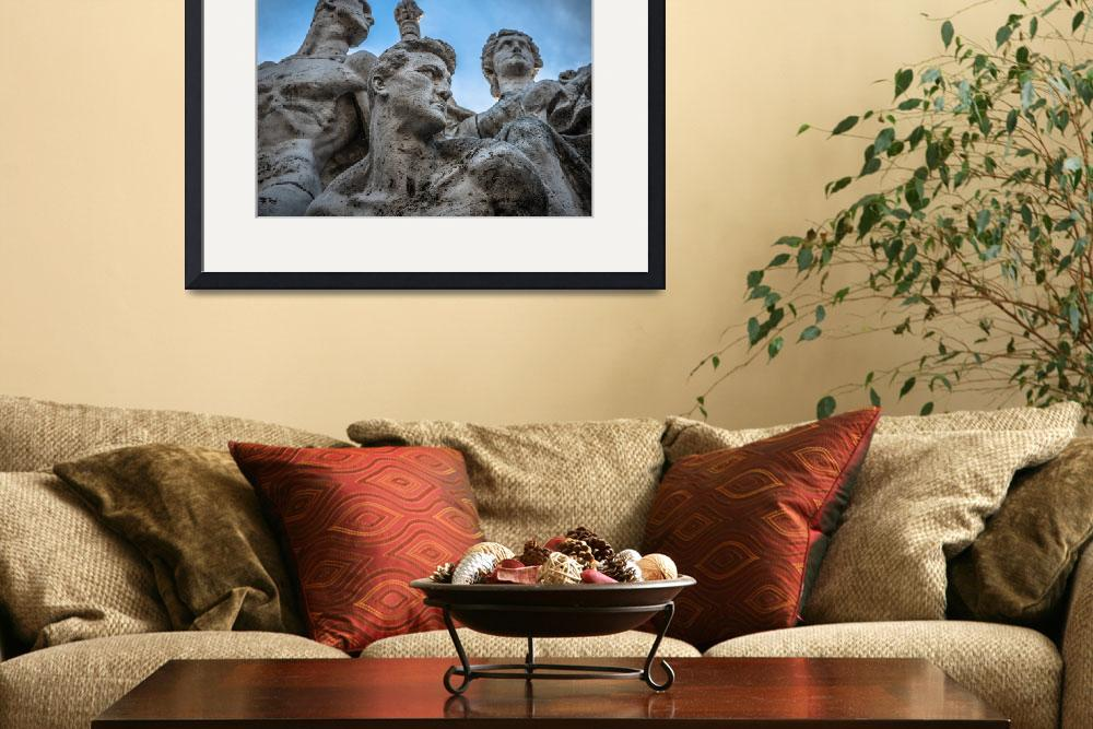 """Italy Photo Framed Photo&quot  by buddakats1"