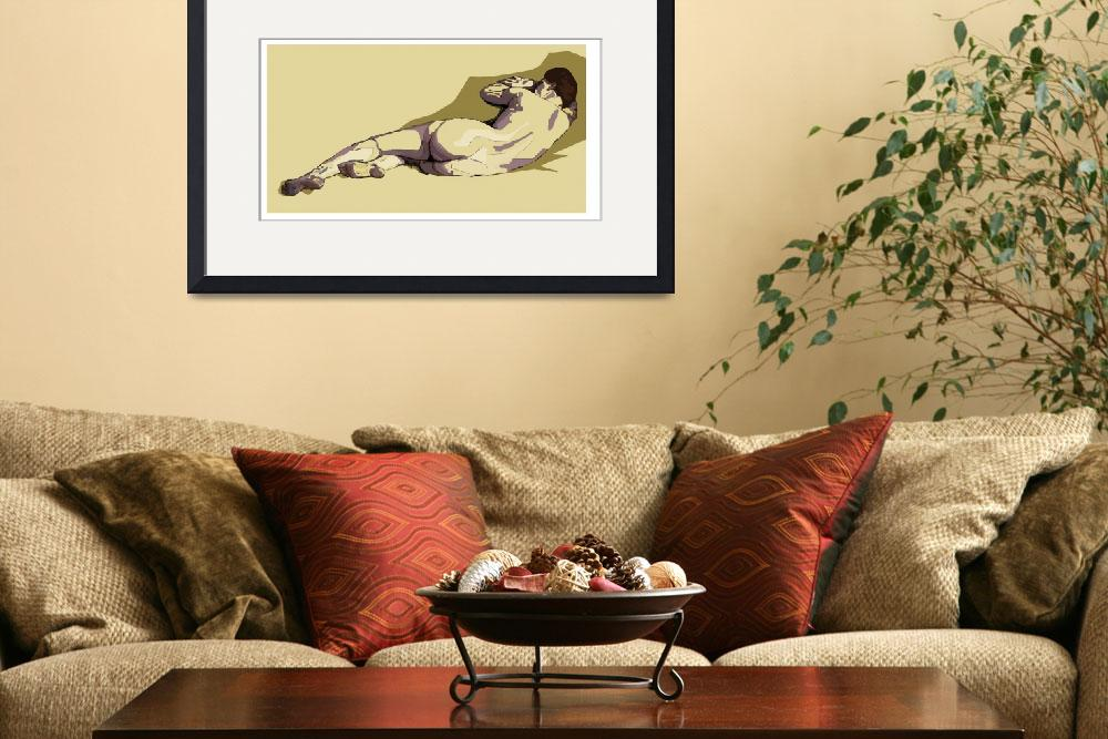 """""""Life Drawing - one&quot  (2011) by RFPRICE"""