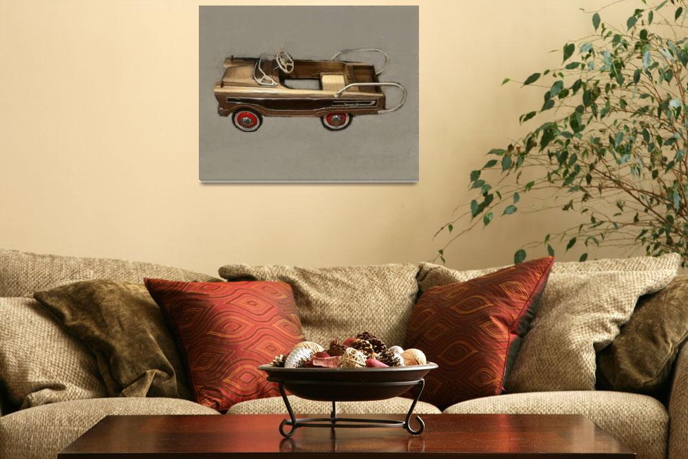 """""""Ranch Wagon Pedal Car""""  (2013) by Michelle1991"""