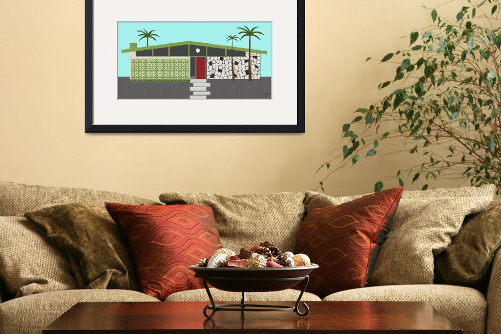 """""""Mid Century House 4&quot  (2014) by DMibus"""