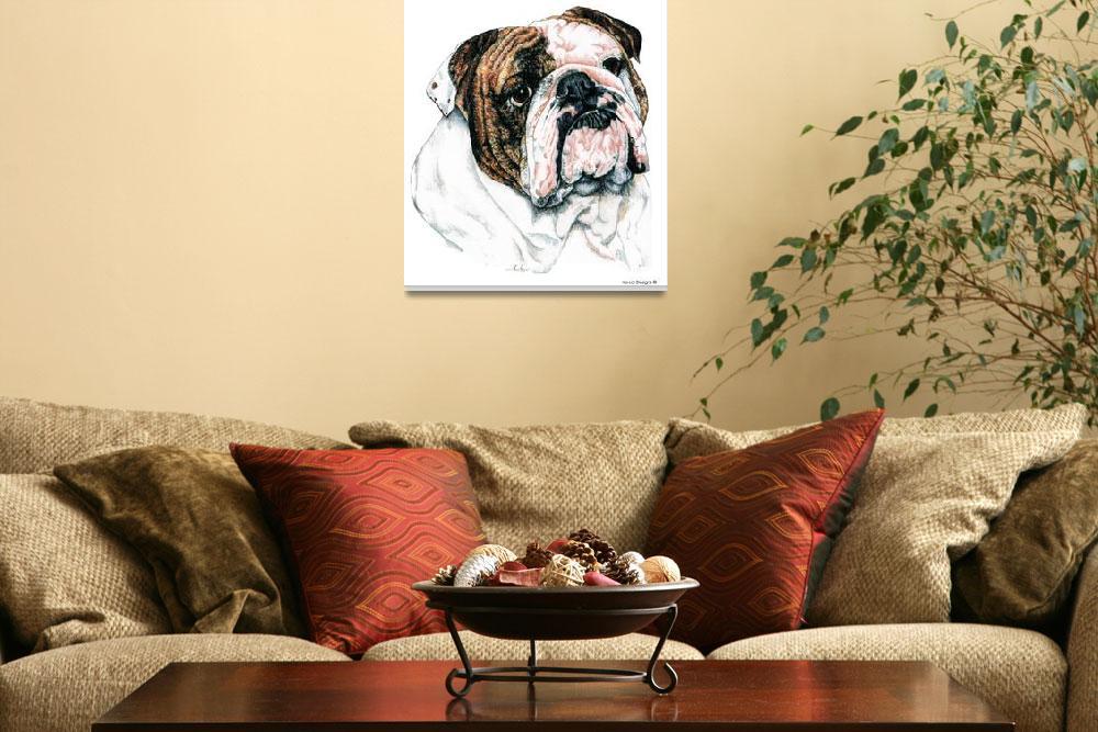 """Bulldog""  (2000) by KathleenSepulveda"