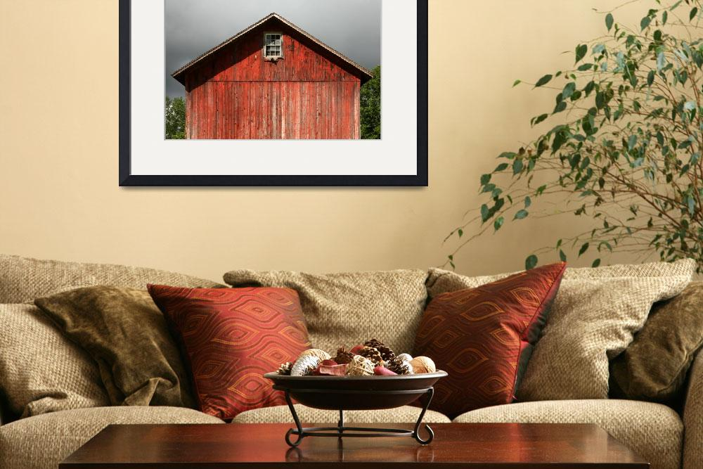 """""""Gable-End Barn Window&quot  (2013) by Peter-A-Kopher"""