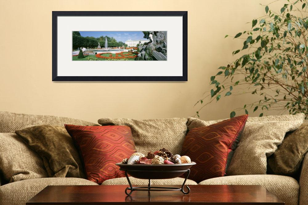 """Mirabell Garden Salzburg Austria""  by Panoramic_Images"