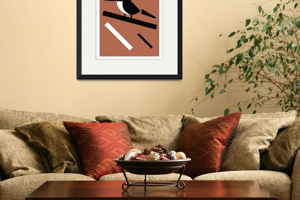 """""""Extinction Series - J (Three-toed Jacamar)&quot  (2010) by qualityposters"""