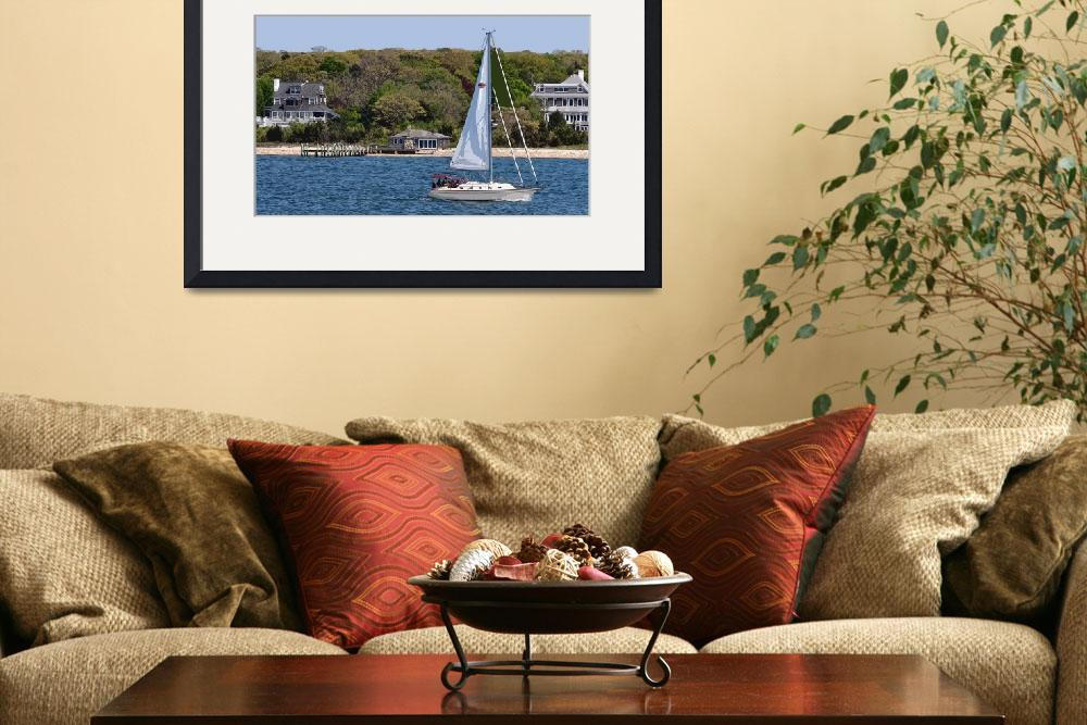 """""""Spring New England Sailing&quot  (2012) by Kirtdtisdale"""