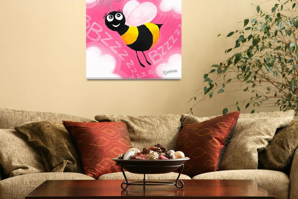 """""""Busy Bee&quot  by annetterosenfeldt"""