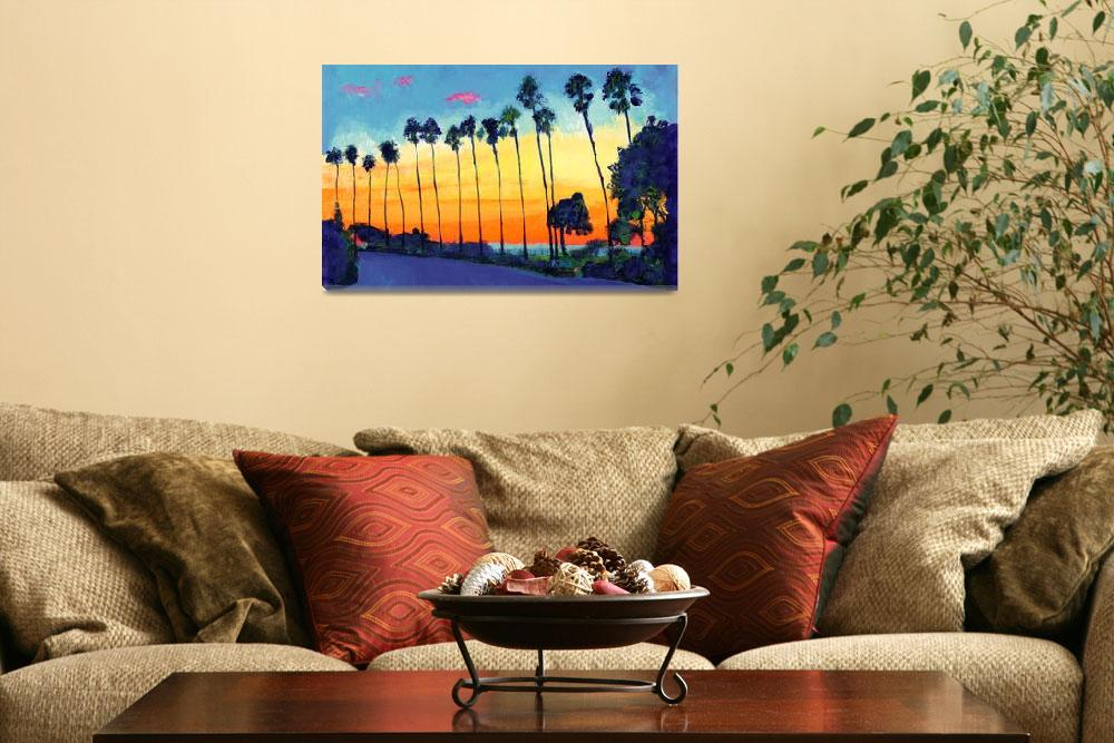 """California Sunset La Jolla&quot  (2007) by RDRiccoboni"