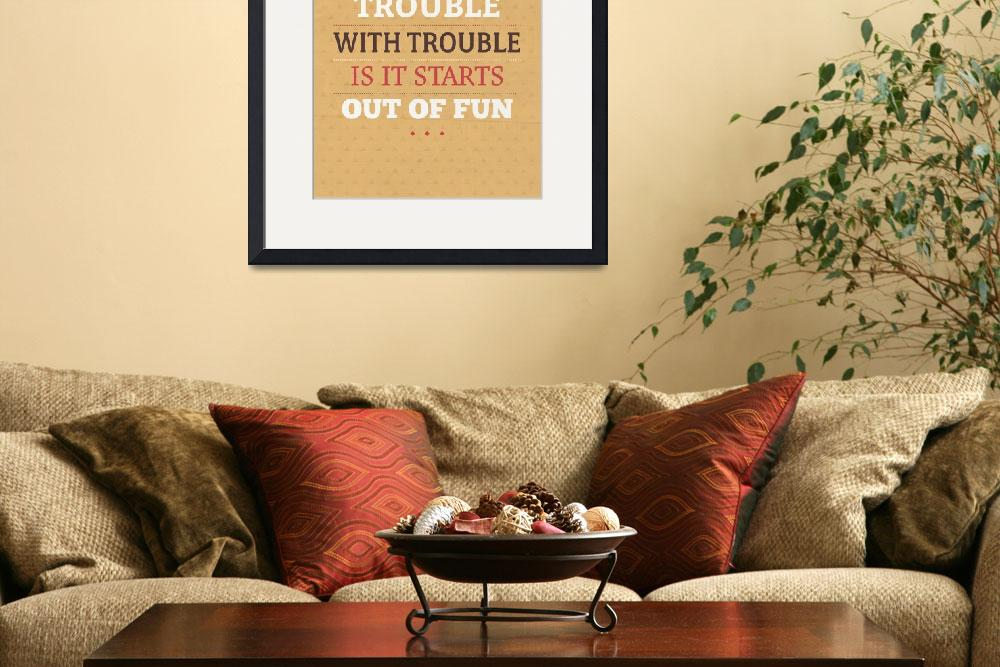 """Fun Trouble&quot  by artlicensing"