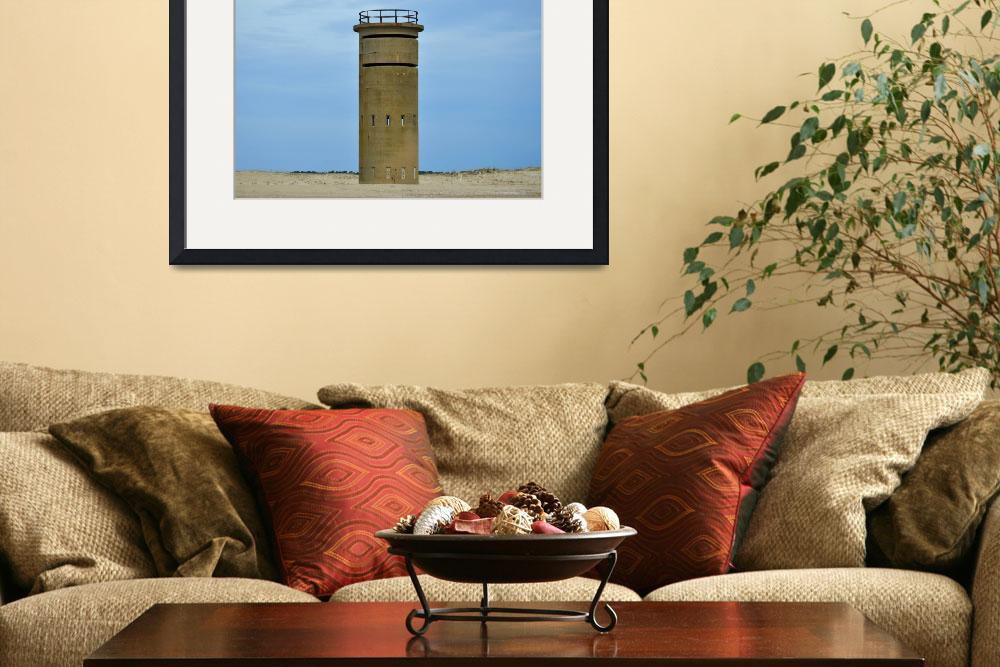 """""""Fort Miles Fire Control Tower 5 Coastal Sentinel&quot  by travel"""