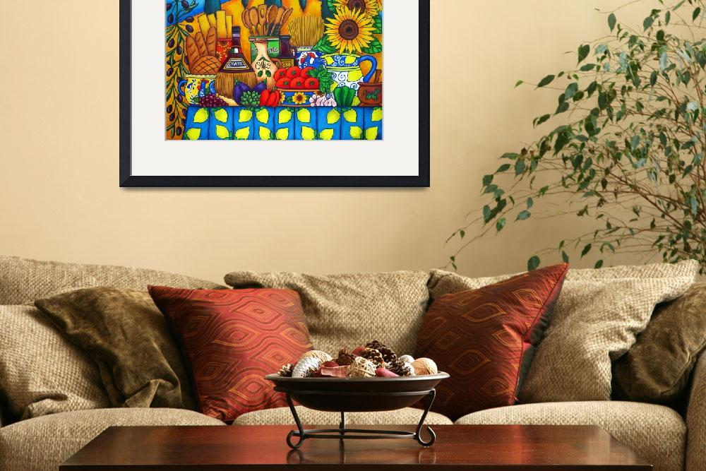 """""""Tuscany Delights&quot  (2007) by LisaLorenz"""