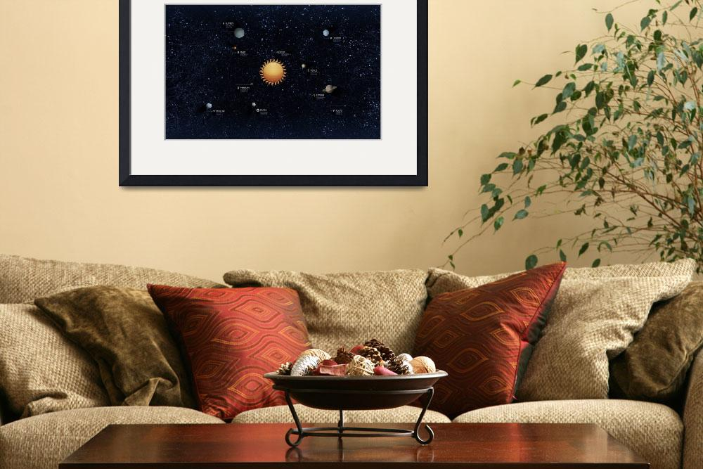 """""""Solar System&quot  by stocktrekimages"""