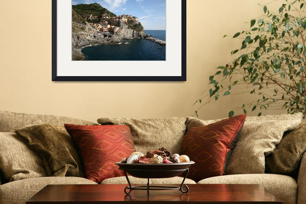 """""""The Cove at Manarola&quot  by DonnaCorless"""