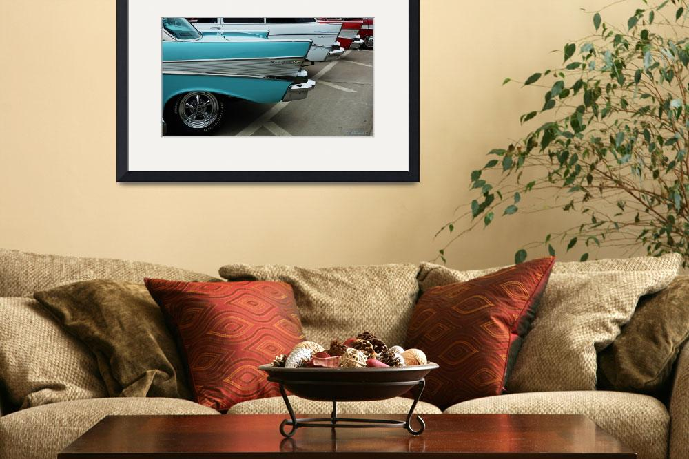 """""""Classic Car Chevrolet Wings&quot  (2010) by garthglazier"""