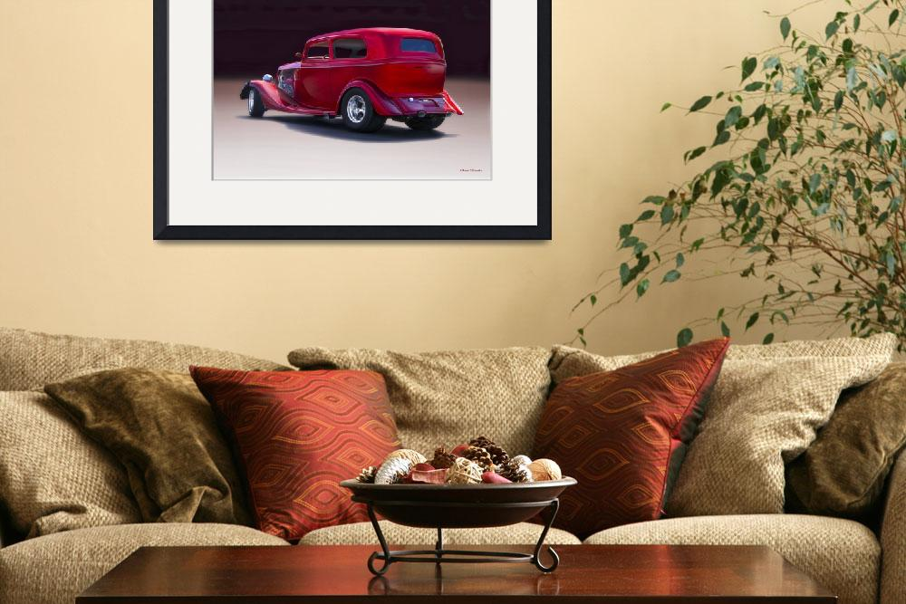 """""""1934 Ford Tudor Sedan&quot  by FatKatPhotography"""