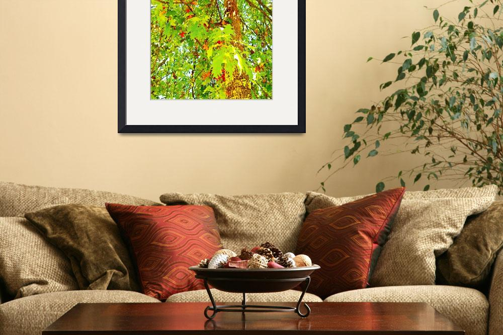 """""""Chartreuse Canopy&quot  (2011) by mcquade"""
