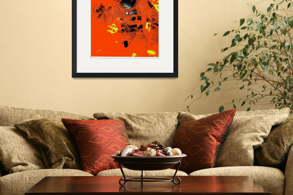 """""""Plastic Astronaut in Orange&quot  (2008) by TrayMead"""