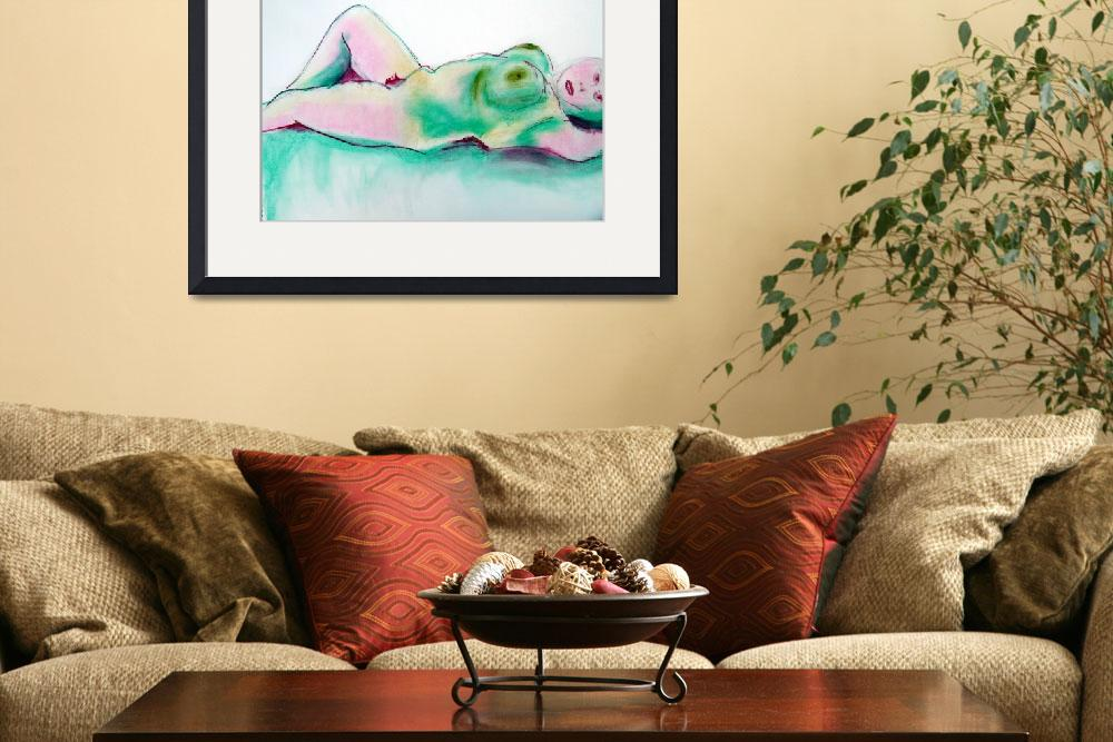 """""""NUDE 5&quot  (2008) by leyla"""