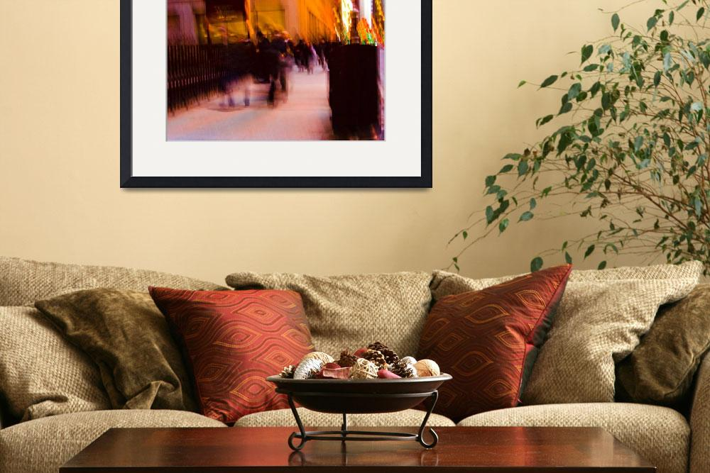 """""""Downtown Commuters IMG_7077&quot  (2012) by CEMiller"""