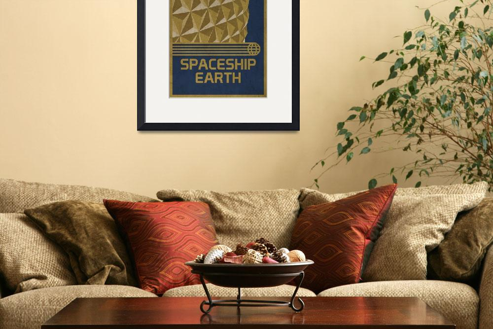 """""""Spaceship Earth&quot  (2010) by scbb11Sketch"""