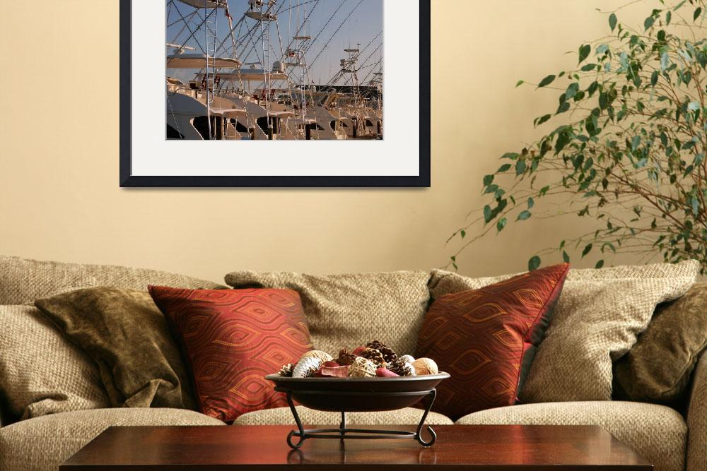 """""""Deep Sea Fishing Boats at Rest&quot  by snarkphoto"""