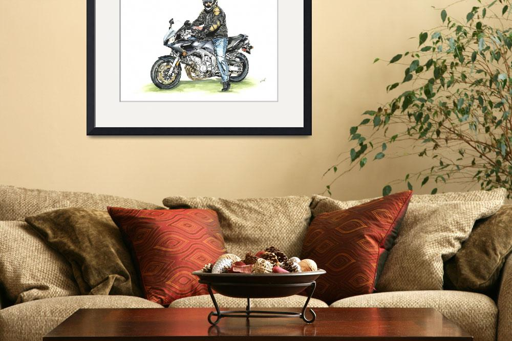 """""""Got to Ride! ~Motorcycle&quot  (2007) by inkandbrushcreations"""