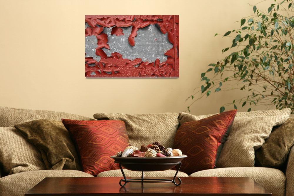 """""""Peeling Paint""""  (2008) by SteveRhode"""