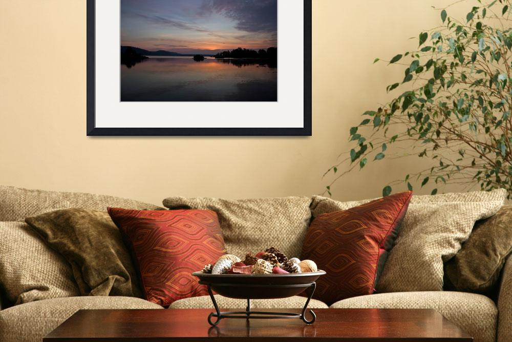 """""""Arkansas River At Sunset&quot  by picturesbybgale"""