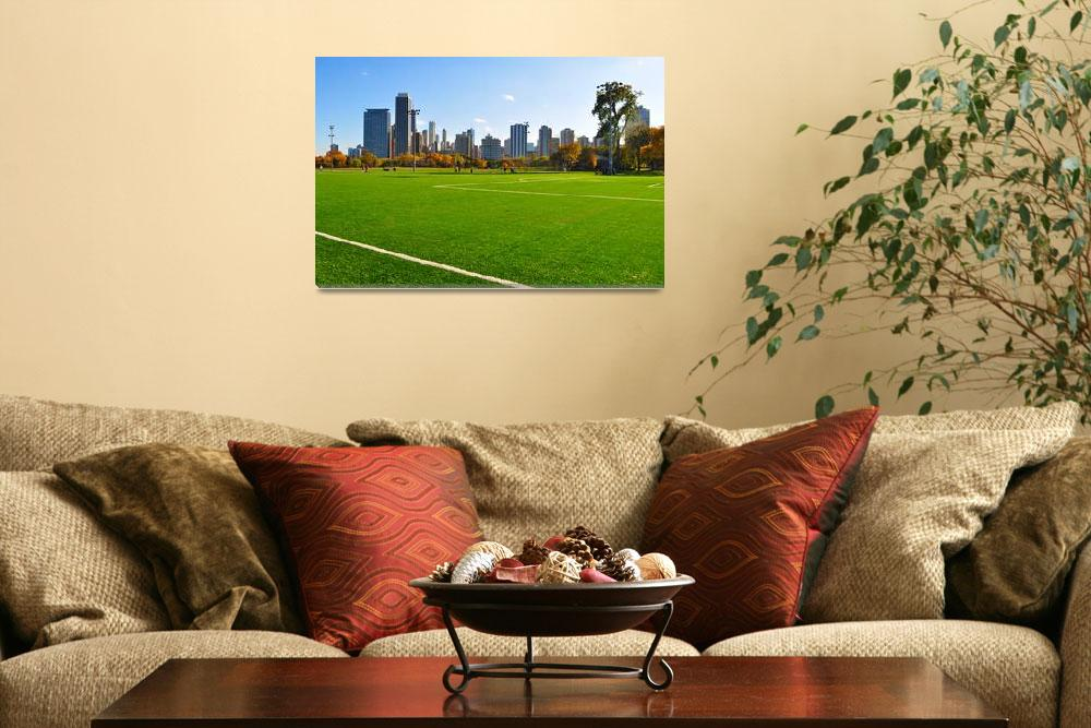 """Chicago Field&quot  (2009) by farid"