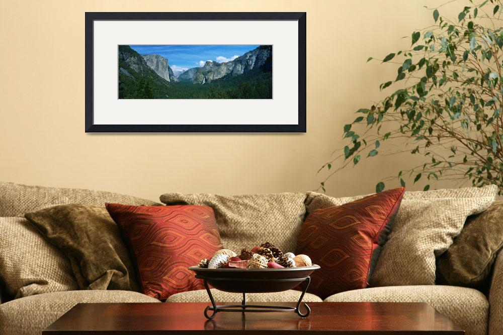 """""""Yosemite Valley Yosemite National Park CA&quot  by Panoramic_Images"""