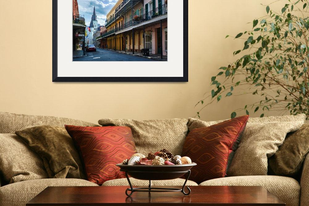 """""""New Orleans Street&quot  (2012) by Inge-Johnsson"""