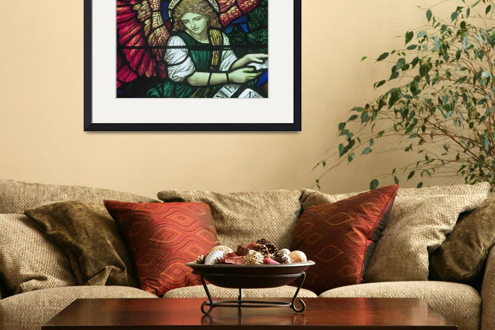 """""""Angel in Stained Glass&quot  by neilepi"""