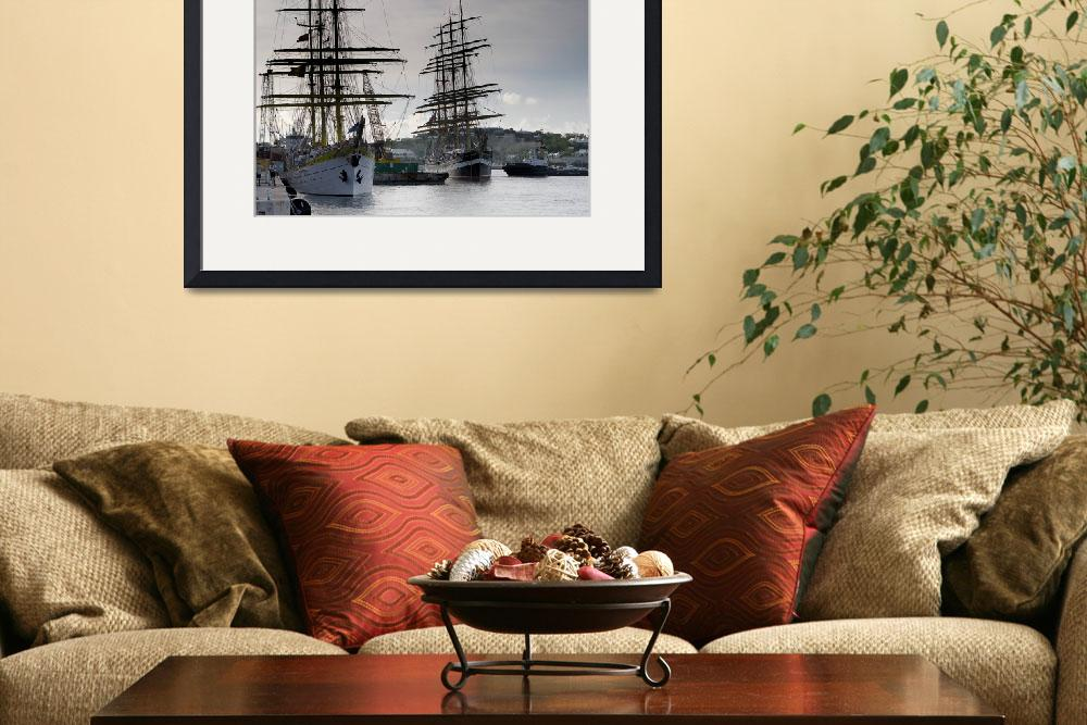 """Tall Ships&quot  by northernfoto"